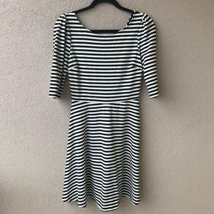Stitch Fix Pixley Kathy Striped Fit & Flare Dress